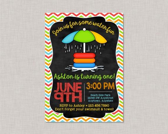 splash pad party invitation splash party invitation splash pad