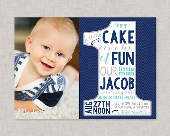 First Birthday InvitationsFirst Birthday Invitations Boy1st