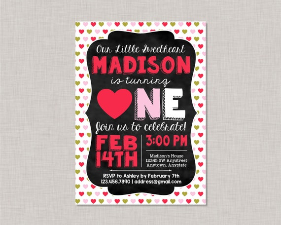 First Birthday Invitations Heart First Birthday Invitation Heart 1st Birthday Invitation Heart First Birthday Party Heart Birthday Invite