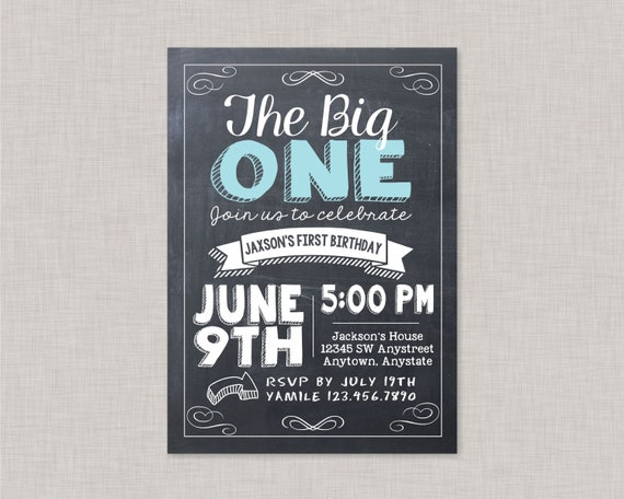 First Birthday InvitationsFirst Invitations Boy1st
