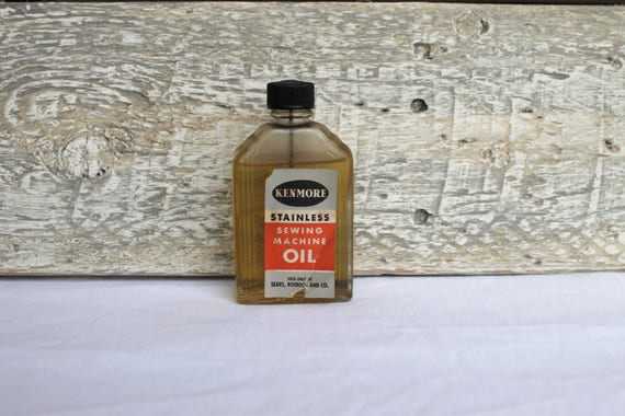 40s Kenmore Sewing Machine Oil Sears Roebuck And Co Etsy Inspiration Kenmore Sewing Machine Oil