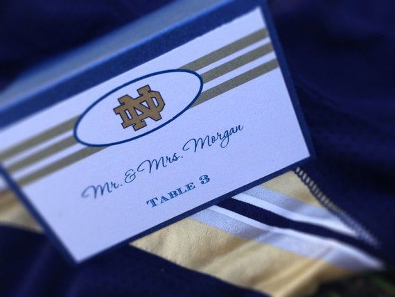 NFL / Football Place Card - NFL Stationery