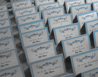 Bling Rhinestone Place Cards