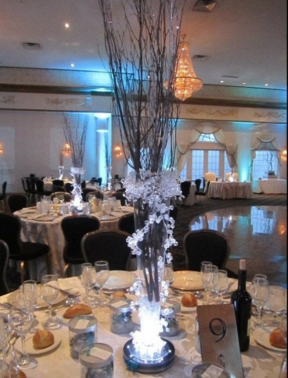 Iced Branch Centerpieces