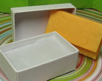 c8d90eec0 Gift box with pad & tissue paper in your choice of colors, add to your  order and make your gift giving easier 2.5 x 1 7/8 inches