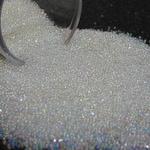 tiny iridescent kawaii fake sugar sprinkles microbead half ounce 14 grams clear glass miniature micro bead marbles nail caviar