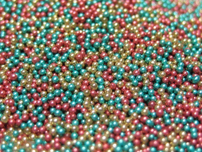 micro marbles christmas holiday color mix half ounce / 14 image 0