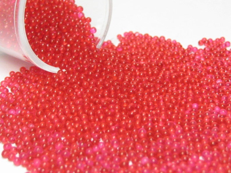 micro marbles / kawaii sprinkles red berry half ounce / 14 image 0