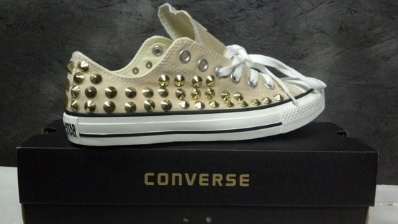 Chaussures Converse Studded, Custom Studded Converse Chuck Taylor All Star Chaussures