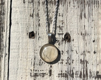 Dog Memorial Necklace, Made With Your Dogs Hair