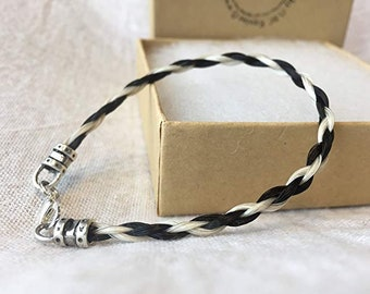 Horse Hair Bracelet Made from Your Horses' Hair
