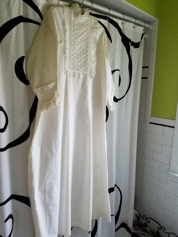 STUNNING Victorian Authentic Nightgown