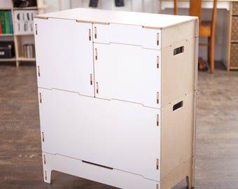 Art and Craft Storage Cabinet