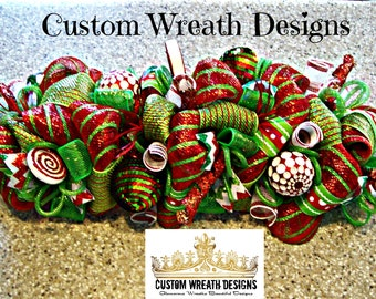 whimsical christmas centerpiece whimsical christmas wreath christmas wreath deco mesh wreath wreath christmas decorations centerpiece