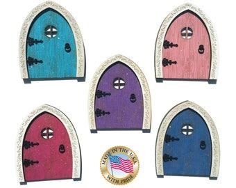 Fairy Door - Wood Fairy Door - Tooth Fairy Door - Wooden Fairy Door