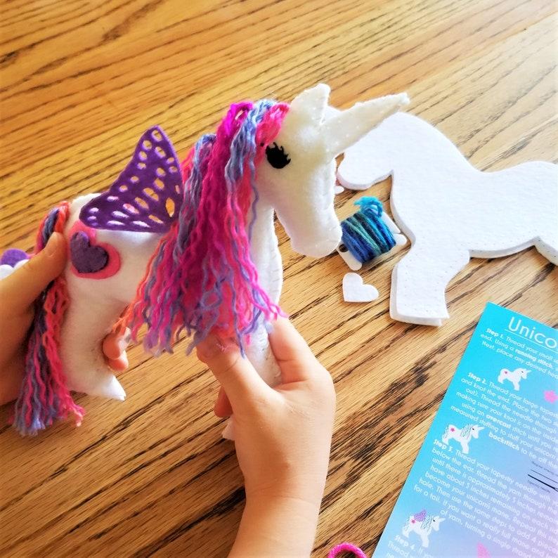 Unicorn Craft Sewing Kit