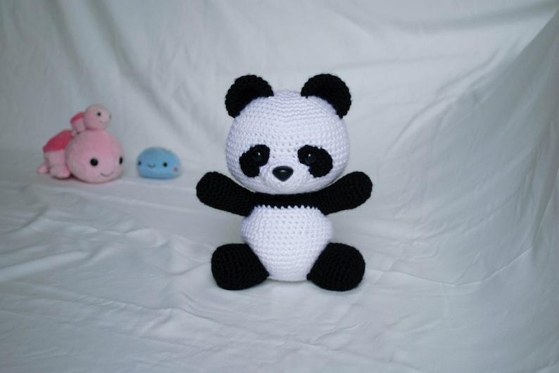 Panda Bear  PDF Crochet Pattern Amigurumi Animals image 0