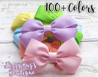 Hair Bows for Girls~Toddler Hair Bows~Baby Hair Accessories~Spring/Easter Hair Bow~Easter Hair Accessories~Girl Easter Basket Gift~Hairbows~