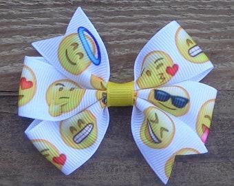 Emoji Hair Bows,Emoji Bows,Laugh Cry Emoji Hair Bows,Laugh Cry Emoji Bows,Emoji Birthday,Emoji Poop Hair Bows,Happy Emoji Hair Bows,Emoji