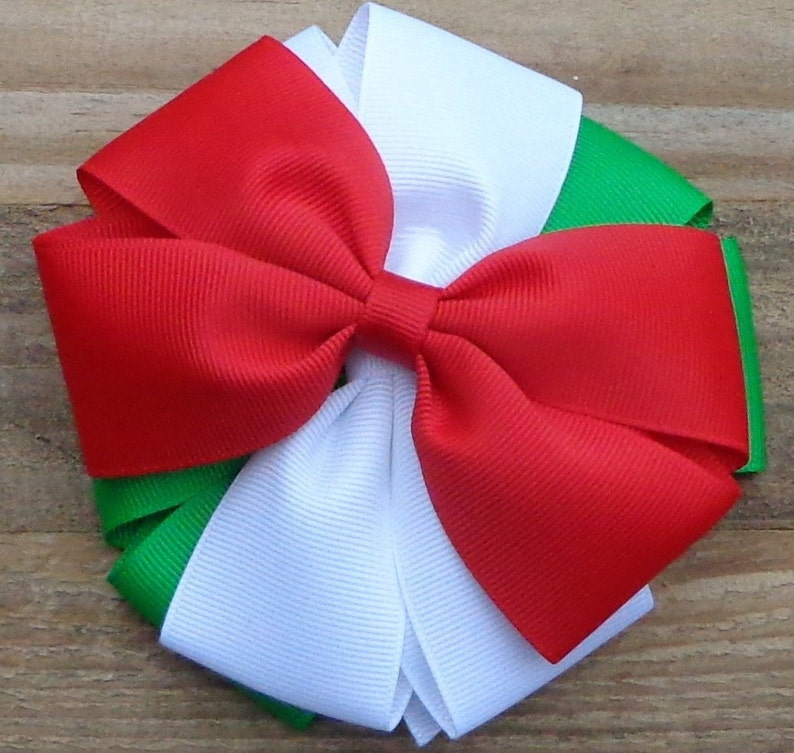 Christmas Hair Bows For Toddlers.Set Of 3 Christmas Hair Bows For Girls Christmas Hair Bow Bundles Christmas Hair Bows Toddler Christmas Hair Clip Girl Hairbow Set Hair Bows