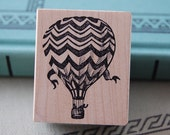 Hot Air Balloon Rubber Stamp 855