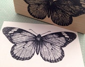 Monarch Butterfly Rubber Stamp for Planners, Journals, and DIY Crafts 1112 T