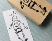 Robot Rubber Stamp 6626