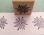 One Small Star Wood Mounted Rubber Stamp 4757