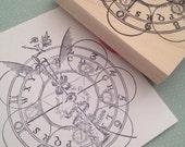 Alchemy Symbols Rubber Stamp 5929Y