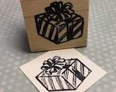 Gift, Present, or Package Rubber Stamp 1730