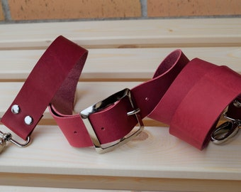 Leather purse strap,leather straps,purse straps,red strap,wide strap,crossbody strap,red leather strap,bag leather strap,purses strap