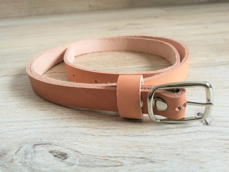 Leather beltbrown leather beltgenuine leather beltmens image 0