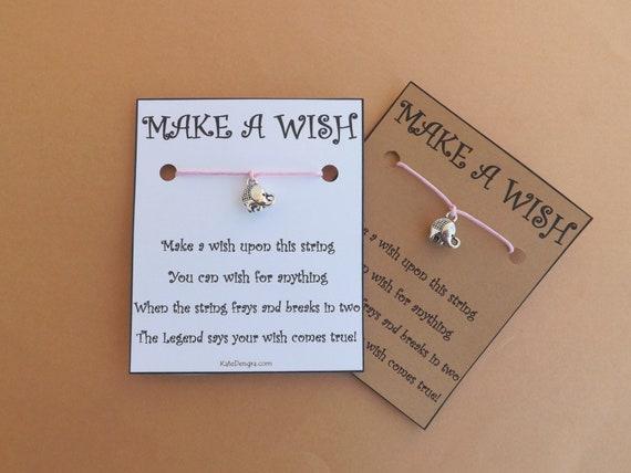 Elephant Wish Bracelet