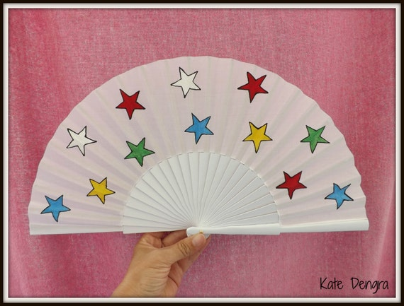 Order of the Eastern Star Hand Fan READY to SHIP