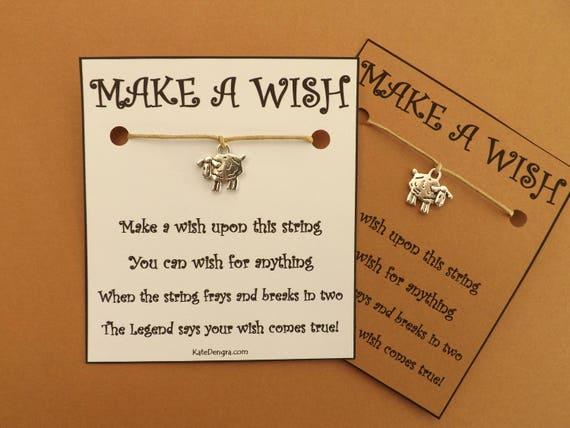 Sheep Wish Bracelet (code BCB1)