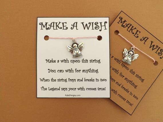 Christmas Angel Wish Bracelet