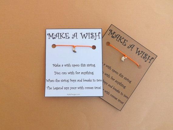 Mini Moon Wish Bracelet