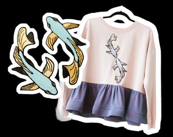 PISCES sweater , One of a Kind