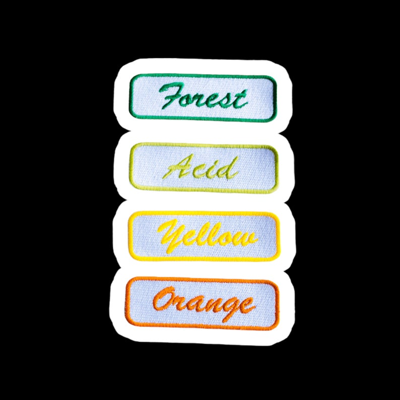 Custom Mechanic Name Patch  Name Tag Patch  Personalized image 1