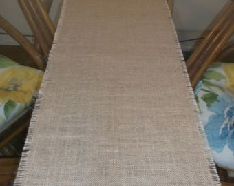 "Burlap Table Runner, 12""-14"" x 36""-108"", Premium Burlap, 5 colors"