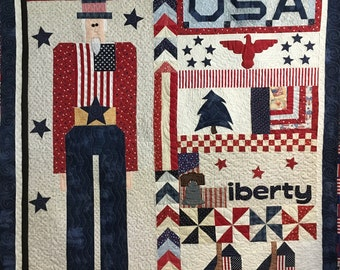 Sam Liberty Quilted Throw