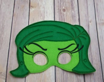 e212f750347 Disgust Inside Out Masks Pretend Play Dress Up
