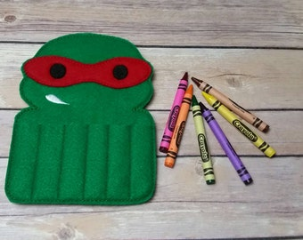 TMNT Crayon holder  Raphael