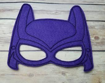 Bat Girl Batman Block Movie Mask Party Favor Dress Up