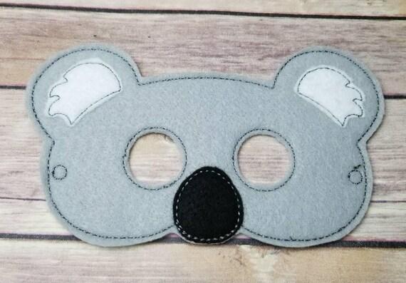 Koala Bear Mask Party Halloween Pretend Play Dress Up