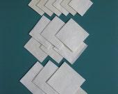 Squares 24 Cream Ultrasuede
