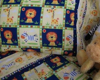 Toddler bedding safari animals crib sheet set 3 pc toddler sheets jungle nursery infant bedding