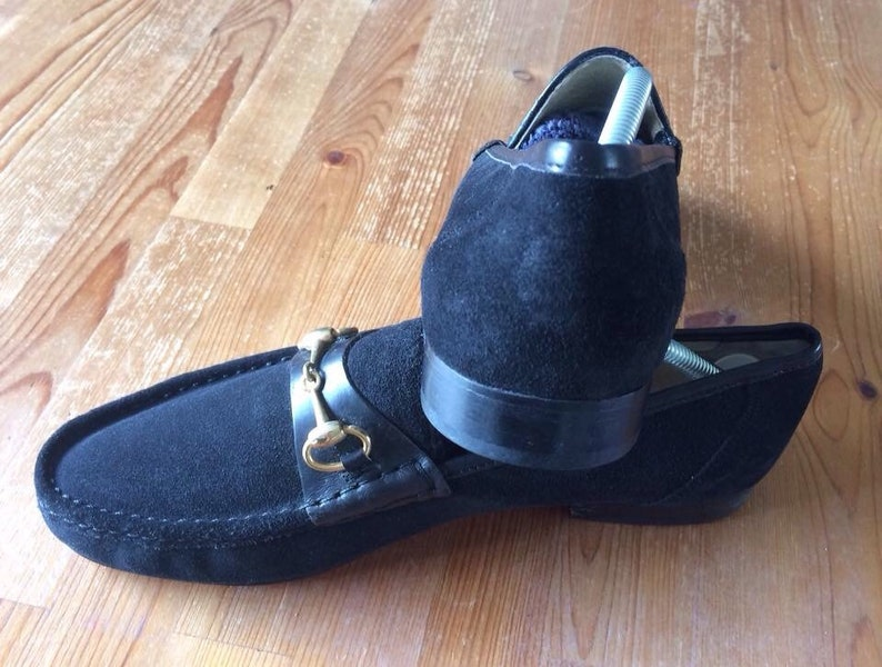7e4a4ccfa774b Gents Vintage Suede Loafers By Dolcis.