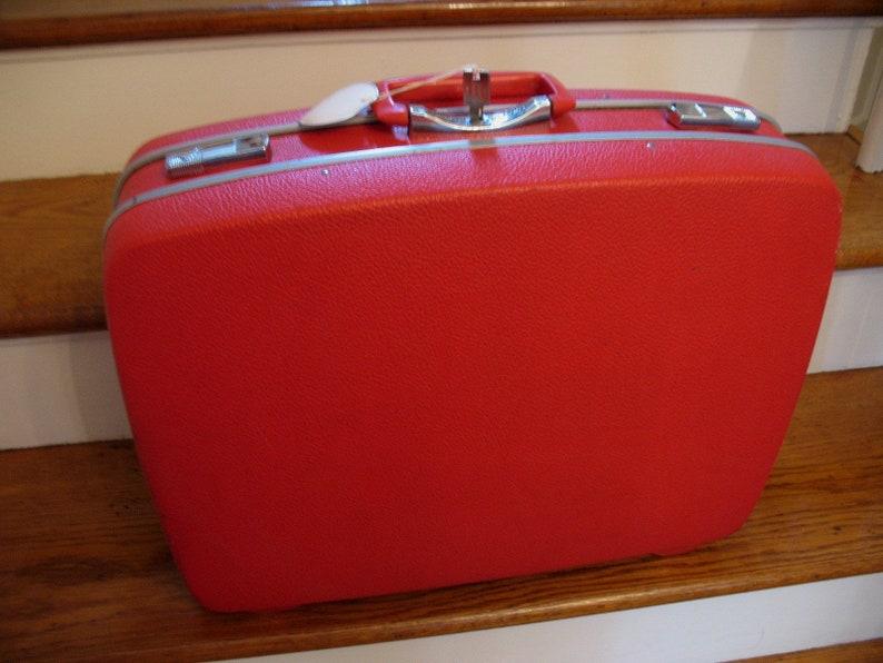 6381e81fd Vintage Royal Traveler Samsonite Style Shwayder Bros. Red | Etsy