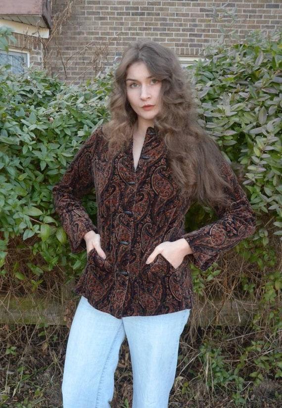 Quilted Velvet Jacket